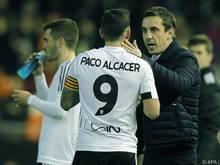 Durchhalteparolen von Valencia-Trainer Gary Neville