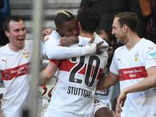 Der VfB schwebt auf der Erfolgswelle