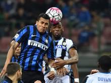 Inter gewann das Legionärs-Match mit 3:1