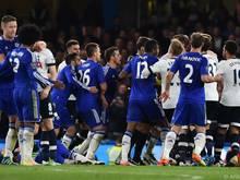 Tumult bei Spiel zwischen Chelsea und Tottenham