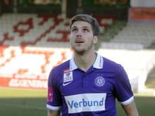 Der Ex-Austrianer ist wieder auf Klubsuche, gehört noch bis nächsten Sommer dem SC Freiburg