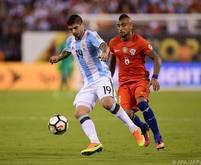 Banega beim Copa-America-Finale gegen Chile