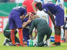 Zlatko Junuzović hatte sich im Zweikampf verletzt