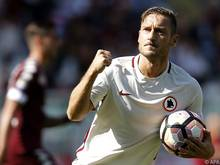 Kein Ende in Sicht: Francesco Totti
