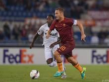 Totti will mit seinen Römern endlich den ersten Auswärtserfolg einfahren