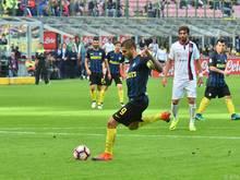Mauro Icardi verschoss vom Elferpunkt