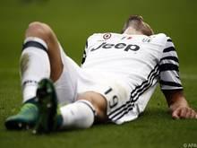 Bonucci mit einer Verletzung am linken Oberschenkel