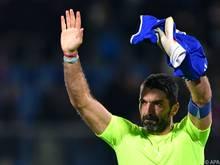 """Gigi Buffon will 2018 """"Arrivederci"""" sagen"""