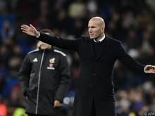 Zinedine Zidane erwartet angemessene Reaktion seiner Mannschaft