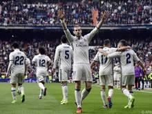 Auch Gareth Bale traf bei seinem Comeback