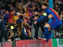 Lionel Messi, der umjubelte Held