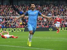 ManCity fertigte Middlesbrough mit 2:0 ab