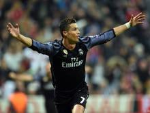 Cristiano Ronaldo scheint gerüstet zu sein