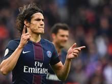 Cavani traf beim 2:0-Erfolg der Pariser