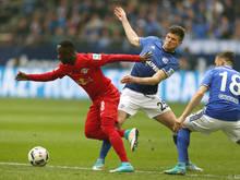 Schalke und Leipzig teilten sich die Punkte