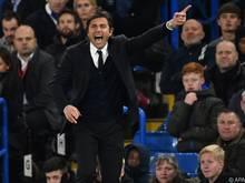 Chelsea-Manager Antonio Conte will den Vorsprung in der Tabelle halten oder ausbauen