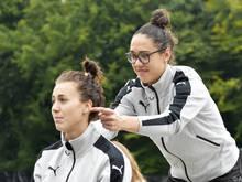Viktoria Schnaderbeck und Manuela Zinsberger Teamkolleginnen beim FC Bayern