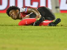 David Alaba musste gegen Georgien ausgewechselt werden