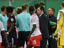 Leipzig-Sportdirektor Ralf Rangnick sorgte für Unruhe