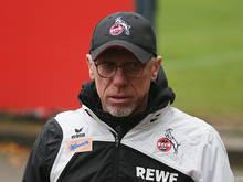 Peter Stöger steht beim 1. FC Köln mit dem Rücken zur Wand