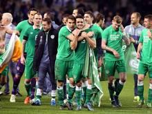 Freude in grün - Irland fährt abermals zu einer EM