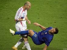 Vor zehn Jahren kam es zum berühmtesten Kopfstoß der Fußballgeschichte