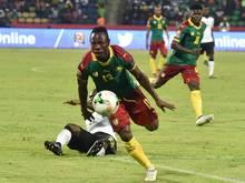 Christian Bassogog sorgte für das 2:0 gegen Ghana