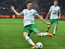 Irlands Verteidiger Stephen Ward hofft auf Sieg