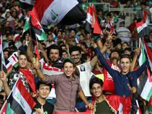 Fans freuten sich auch über 1:0-Heimsieg gegen Jordanien