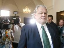 Ex-Sturm-Präsident Hannes Kartnig wieder (fast) auf freiem Fuß