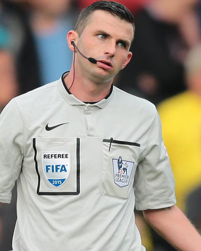 Michael Oliver » League Cup 2015/2016