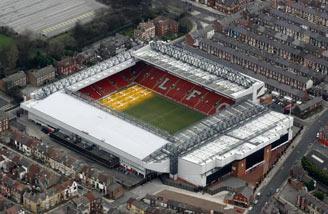Anfield Liverpool England 187 Aerial View