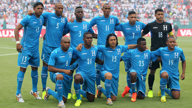 Honduras Team on oscar salas honduras