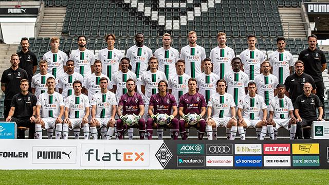 Mönchengladbach Mannschaft