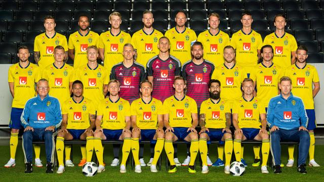 Schweden Mannschaft