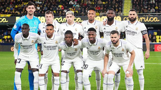 Real Madrid » Kader 2015/2016