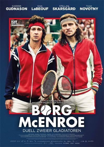 Filmplakat - Borg/McEnroe