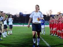 Die frühere Nationalspielerin Birgit Prinz soll vomDFB geehrt werden. Foto: Lars Baron