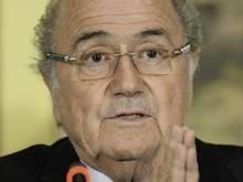FIFA-Boss Joseph Blatter bietet dem philippinischen Verband Hilfe an