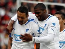Sejad Salihović (l) und Anthony Modeste (r) trafen beide gegen die Münchner