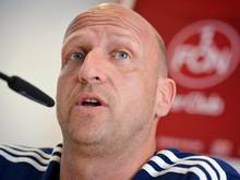 Nürnberg-Coach Roger Prinzen will sich nicht verstecken. Foto: David Ebener