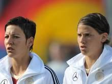 Linda Bresonik und Annike Krahn (r) sind mit Paris für die Champions League qualifiziert. Foto: Carmen Jaspersen