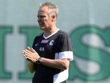 Trainer Christian Streich fuhr fast mit einer vollständigen Mannschaft ins Trainingslager