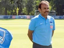 Trainer Jos Luhukay ließ alle Spieler spielen
