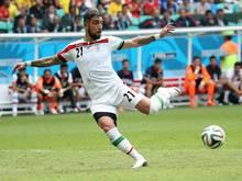 Ashkan Dejagah spielte für den Iran bei der WM