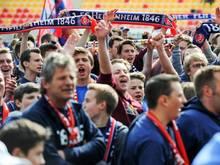 Das Stadion des 1. FC Heidenheim bietet bald mehr Zuschauern Platz