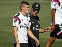 Toni Kroos wird von Carlo Ancelotti in die Startelf beordert