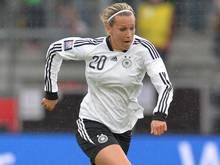 Lena Goeßling brach sich den großen Zeh. Foto: Carmen Jaspersen