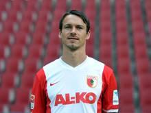 Markus Feulner vom FC Augsburg fällt aus. Foto: Stefan Puchner