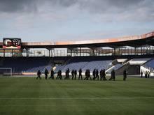 Das Spiel zwischen Eintracht Braunschweig II und Hannover 96 II musste vorübergehend unterbrochen werden